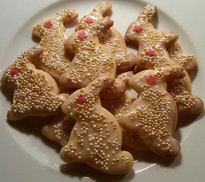 Kaninchen-Kekse